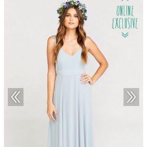 Steel Blue Jenn Maxi Dress